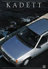 OPEL KADETT E LS GT GSI 16v Cabriolet Caravane prospectus 1988 +++++++++++++++++++++++