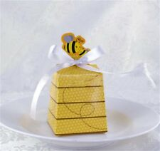 50pcs Bees Candy Boxes Gift Box Wedding Birthday Party Favour Baby Shower Favor