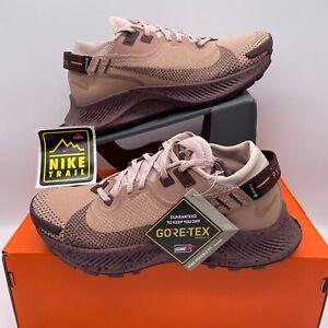 Nike Pegasus Trail 2 GTX Women Dessert Dust CU2018-200 Running Shoe Size 6.5-9