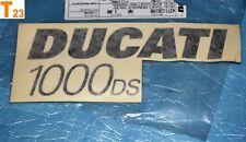 """1 autocollant de flanc gauche """"DUCATI 1000 DS """" Supersport 1000 SS 43711261AB"""