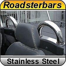 Mercedes Benz SLK R170 Chrome Rollbars Stainless Steel Bars Roll Over Top Bar