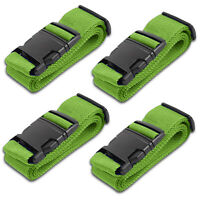 Azarxis Luggage Strap Suitcase Straps Travel Accessories Bag Belts Heavy Duty Adjustable Non-Slip 4 Pack
