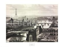 River Seine and the City of Paris by Peter Turnley Art Print French Poster 32x24