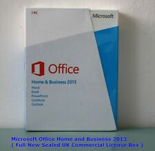 MICROSOFT OFFICE HOME AND BUSINESS 2013 - New Sealed Retail Boxed ( T5D-01574 )