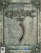 GOTHIC 3 / COFFRET EDITION LIMITÉE COLLECTOR / JEU PC / NEUF & SCELLÉ / VF