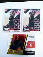 2019-20 Donruss Optic De'Andre Hunter The Rookies RC Hawks 3 CARD LOT