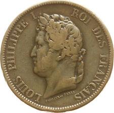 KGR. Francia, Louis Philippe I., colonie francesi, 10 CENTESIMI 1839 a