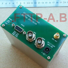 10MHZ OUTPUT SINE WAVE GPS DISCiPLINED CLOCK GPSDO + GPS Antenna + Power supply