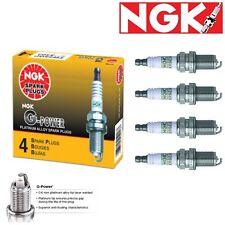 4 - NGK G-Power Plug Spark Plugs 2001-2005 Honda Civic 1.7L L4 GAS Kit Set