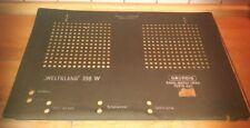Rückwand aus Grundig Weltklang 398W - Röhrenradio Ersatzteile