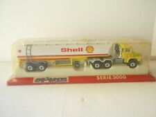 Majorette 3000 SERIES SCANIA  SHELL  TANK TRAILER NEAR M Box Selten Rare