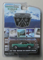 1967 Ford Mustang Ski Country Special HOBBY GREENLIGHT DIECAST 1/64