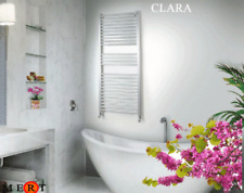 Aluminium badheizkörper modell Clara in Farbe Weiss matt BxH=50x97 cm