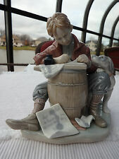 """Lladro (Norman Rockwell) Love Letters - 1406 - No Box. """"Sold As Is"""""""