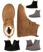 New UGG Men's Harkley Chukka Lined Boots Casual Fashion High Top shoes Sneakers