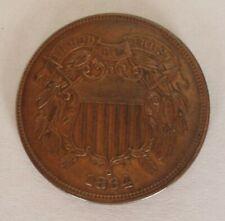 1864 - Copper 2 cent piece XF++
