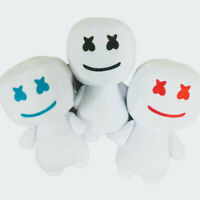 New DJ Marshmello Party Plush Toy Collectibles Stuffed Dancing Style Gift Doll