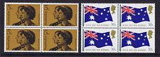 Australian Decimal Stamps 1970 Royal Visit Set of 2 MNH Blocks 4