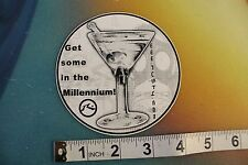 """New listing Rusty R dot Martini Get some in the Millennium!~4"""" Vintage Surfing Decal Sticker"""
