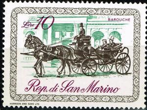 San Marino Fauna Pets Horse stamp 1952 MNG A-2