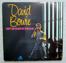 "10"" LP / DAVID BOWIE / DON'T BE FOOLED  / 1981 / RARITÄT / UK PRESS /"