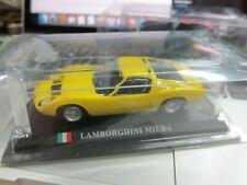 DelPrado - Scale 1/43 - Lamborghini Miura - Yellow - Mini Toy Car