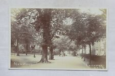 More details for postcard new walk leicester leicestershire unposted real photo rp