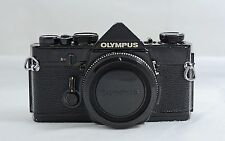 OLYMPUS OM-1 BLACK SLR CAMERA BODY