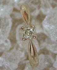 ✨0,15 ct✨ Solitär Brillant Schmuck in aus 14kt 585 Gold Ring mit Diamant Diamond