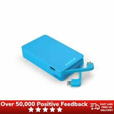 Juice Weekender 8400mAh Portable Power Pack Blue USB Battery Charger Mobile