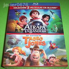 ATRAPA LA BANDERA + TADEO JONES EN BLU-RAY PACK NUEVO Y PRECINTADO