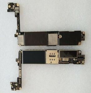 Motherboard Mainboard Apple iPhone 7 128GB Black Home Button ICLOUD BYPASSED