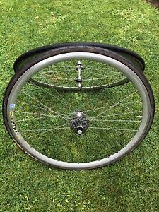 700c Road Bike Wheels Mavic CXP 30 SUP Campagnolo Veloce Hubs / 9 Speed Cassette
