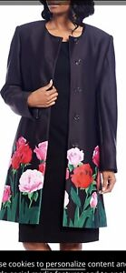 """JOHN MEYER DRESS AND JACKET/RETAIL$240/SIZE 18W//LENGTH 40""""/NEW WITH TAG"""
