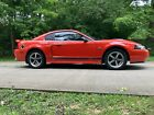 2004 Ford Mustang MACH I 2004 Ford Mustang Coupe Orange RWD Manual MACH I