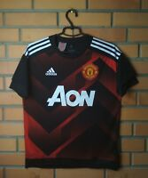 Manchester United Jersey Youth 13-14 Soccer Adidas Football Training Trikot