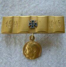 Eisernes Kreuz - Kaiser Wilhelm . Brosche original - Patriotika -  3181