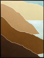"""Peter Keefer """"Seascape XXXVI"""" Hand Signed & Numbered Collagraph Fine Art Print"""