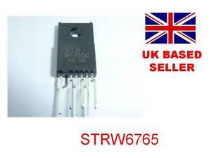STRW6765 STR W6765 IC Toshiba 42WLT58 stuck in standby