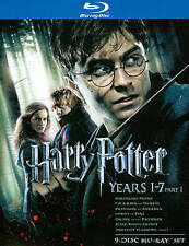 Harry Potter: Years 1-7, Part 1 (Blu-ray Disc, 2011, 9-Disc Set)