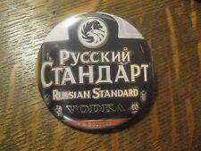 Russian Standard Vodka Original Liquor Label Advertisement Pocket Mirror $20