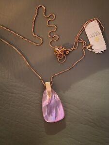 New Kendra Scott Maeve Pink MOP Pendant Necklace $80.00