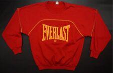 Rare Vintage EVERLAST Spell Out OG Logo Crewneck Sweatshirt 80s 90s Boxing SZ M