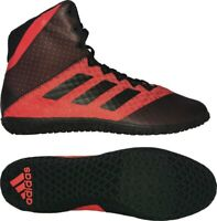 Adidas Mat Wizard 4 Wrestling Boots Adult Mens Womens Red Boxing Shoes Gym Foot