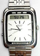 Vintage SEIKO H557-5191 Analog & Digital Quartz Men's Japan Watch