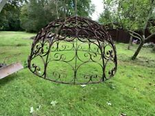 More details for antique wrought iron garden dome