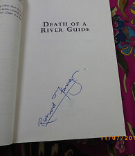 Signed first edition Richard Flanagan    DEATH OF A RIVER GUIDE.  rare proof