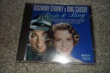 ROSEMARY CLOONEY & BING CROSBY CD Album - ROSIE & BING