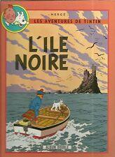 BD DOUBLE - TINTIN : L' ÎLE NOIRE + L' ETOILE MYSTERIEUSE