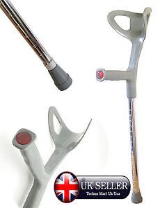 Forearm Rest Walking Stick Medical Adjustable Folding Walking Stick Elder Cane
